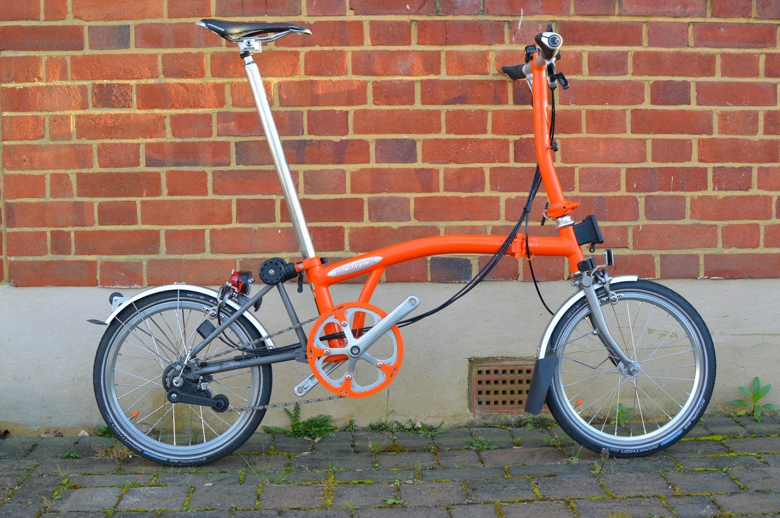Orange 50t chainguard (spider crank)