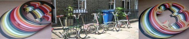 bromptons together