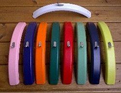 coloured mudguards