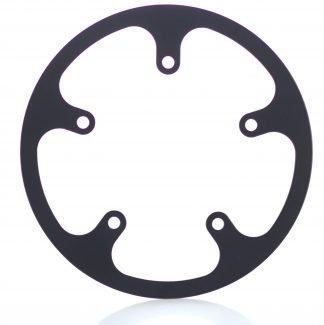 44t fixed chainguard - black