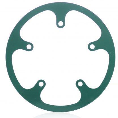 44t fixed chainguard - matt green