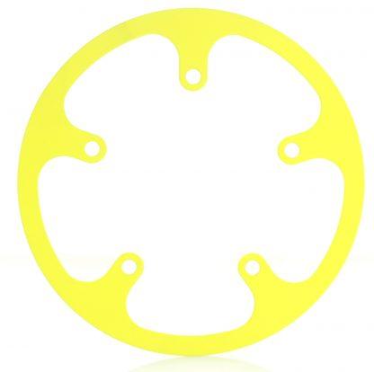44t fixed chainguard - yellow.