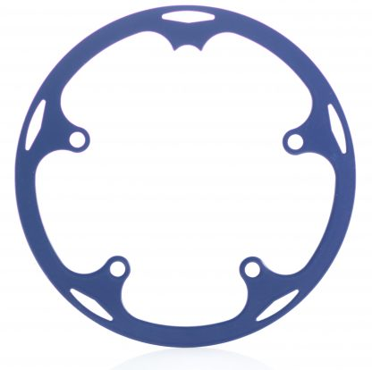 44t spider chainguard - cobalt blue.