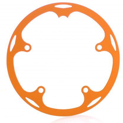 44t spider chainguard - orange.