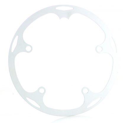 44t spider chainguard - white.