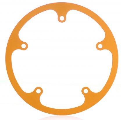 50t fixed chainguard - orange