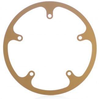 54t fixed chainguard - gold.