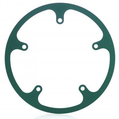 54t fixed chainguard - green.