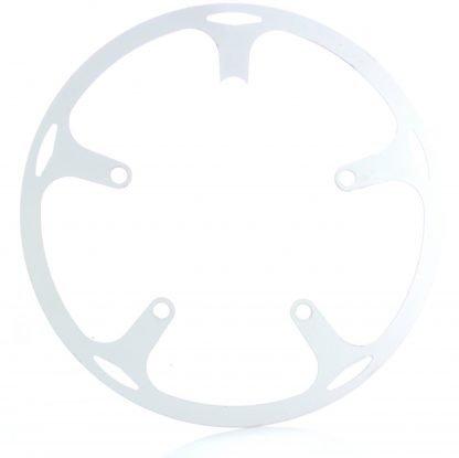 54t spider chainguard - white